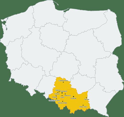 Studnie Małopolska, Studnie głębinowe Śląsk, Studnie Bielsko-Biała